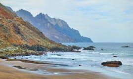 InTenerife della spiaggia di Almaciga Fotografia Stock Libera da Diritti