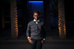 Intense African American Teen Stock Photo