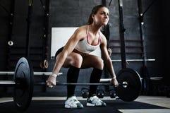 Intense Crossfit Workout Stock Photo
