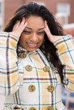 Intense Headache Stock Images