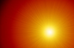 Intense Light Ray Sunshine Background Stock Image