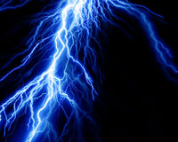 Intense lightning Stock Images