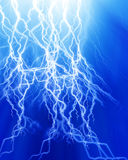 Intense lightning Royalty Free Stock Photo