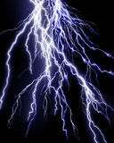 Intense lightning storm Stock Photos