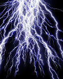 Intense lightning storm Royalty Free Stock Images