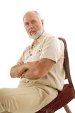 Intense older man Royalty Free Stock Photography