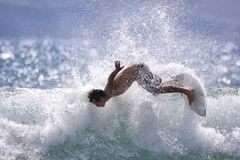 Intense Surf Stock Images
