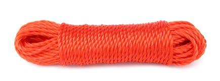 Intense synthétique rouge de corde Photo stock