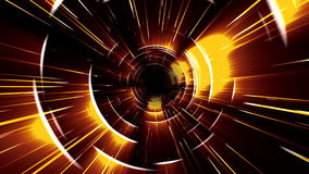 Intense tunnel zoom stock video footage