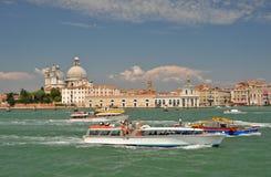 Intense Venetian movement Stock Image