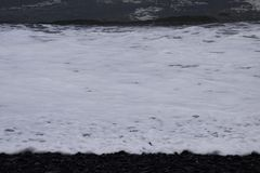 Intense waves. Background material Royalty Free Stock Photos