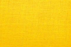 Intensieve gele stof Royalty-vrije Stock Foto
