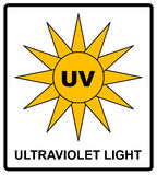 Intensity Ultraviolet Light Protect Your Eyes UV royalty free stock photography
