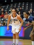Intensity - Villanova ladies basketball Stock Images