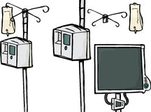 Intensive Care Equipment Stock Images