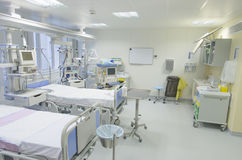 Intensive care unit Stock Image