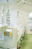 Intensive care unit with monitors Royalty Free Stock Photography