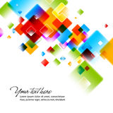 Intensive Colors. Abstract EPS10 Vector Background Royalty Free Stock Image
