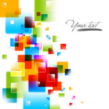Intensive Colors. Abstract EPS10 Vector Background Royalty Free Stock Photos