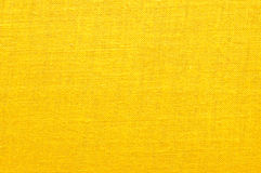 Intensive yellow fabric Royalty Free Stock Photo