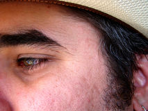 Intensiver Augen-Schuß Stockbilder