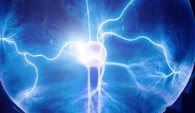 Intensywny elektryczny rozładowanie obraz royalty free