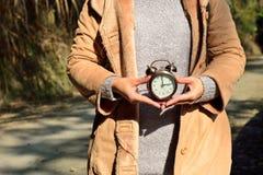 Intente utilizar su tiempo sensato Foto de archivo libre de regalías