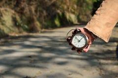 Intente utilizar su tiempo sensato Fotografía de archivo libre de regalías