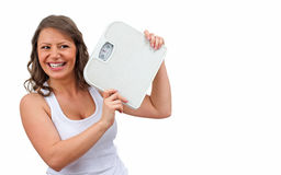 Weight Loss. Intentional weight loss refers to the loss of total body mass in an effort to improve fitness and health Stock Photography