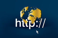 Inter Business 02. World wide web business modern technology business Royalty Free Stock Image
