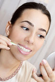 Inter-dental brushes Stock Images