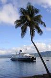 Inter island ferry in Vanua Levu Fiji Stock Images