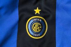 Inter. Milano emblem Stock Photo