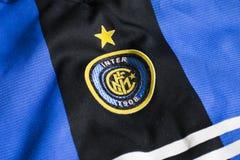 Inter. Milano emblem Royalty Free Stock Image