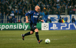 Inter Milano's Esteban Cambiasso Royalty Free Stock Images