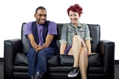 Inter-Racial Couple Stock Photos