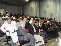 Inter -religious program Stock Photography