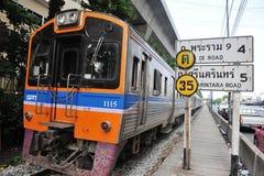 Inter treno della città Fotografia Stock Libera da Diritti