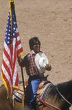 Inter-tribal ceremonial Indian Rodeo Stock Images