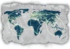Interação global Fotografia de Stock