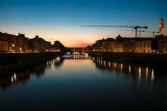 Intera vista di Firenze Fotografia Stock Libera da Diritti