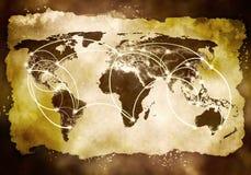 Interacción global Fotografía de archivo