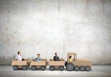 Interactie in zaken Stock Foto's