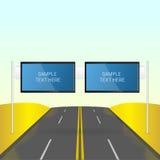 Interactieve TV-banners Royalty-vrije Stock Afbeelding