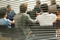 Interacting group Stock Photos