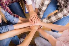 Interaction de groupe Image libre de droits