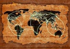 Interaction globale Photos stock