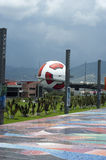 Interactive museum of Football in Pachuca Mx. Royalty Free Stock Photography