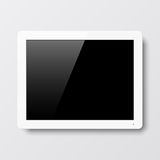 Interactive wall touch screen Royalty Free Stock Images