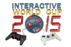 Interactive World Cup concept Stock Photos